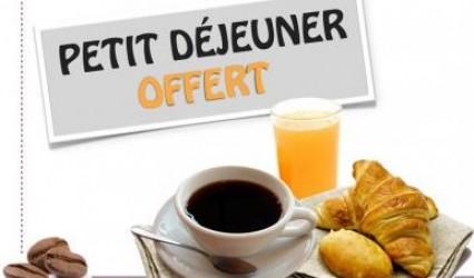 Offre d'Hiver ! Petit-déjeuner offert !!!